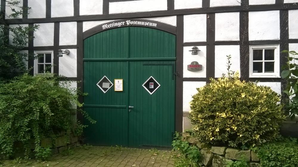 Hier soll der Neue Zugang zum Postmuseum erfolgen.