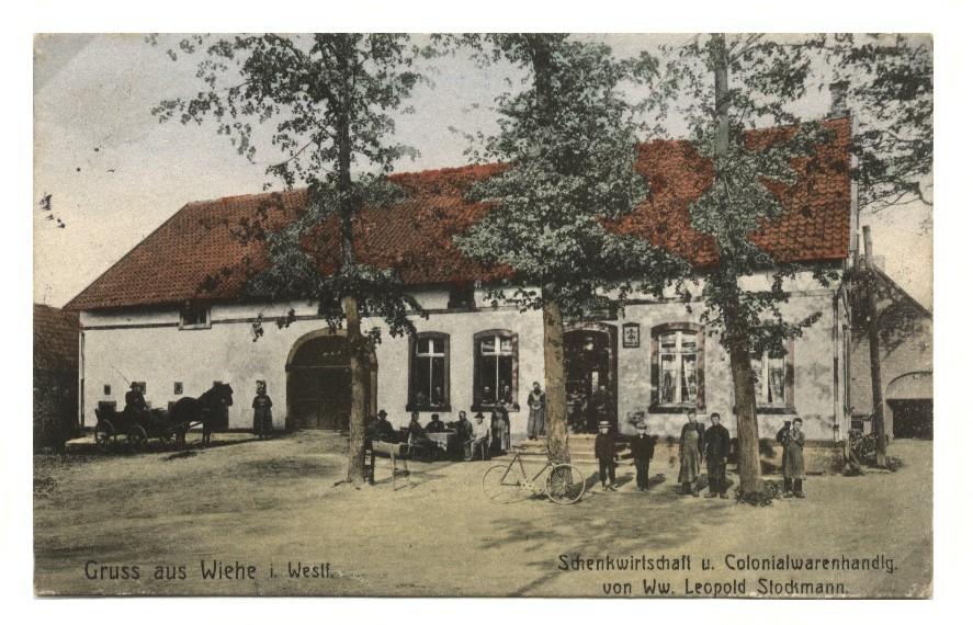 Posthilfsstelle Stockmann in Mettingen-Wiehe